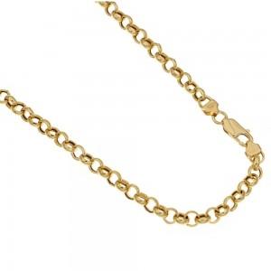 catena in oro giallo 18 kt...