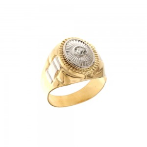 Yellow and white gold 18 Kt...