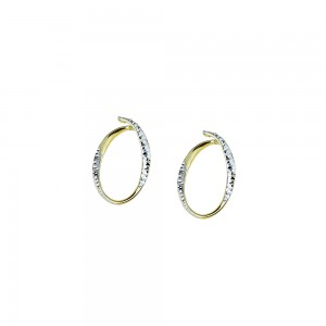 White and yellow gold 18 Kt...