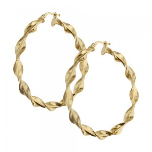 Orecchini a cerchio in oro...