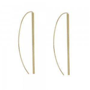 Yellow gold 18 K with long...