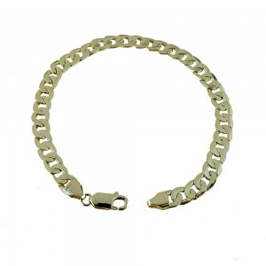 Yellow gold 18k link chain...