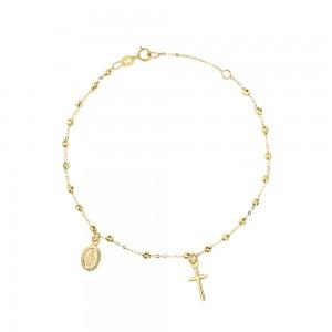 Yellow gold 18k Rosary...
