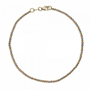 18k Gold with spheres woman...