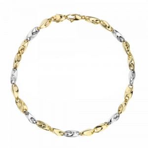 Yellow and White Gold 18k...