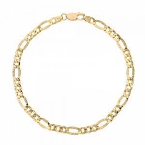 Yellow Gold 18k 3+1 Chain...