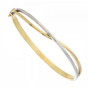 Bicolor Gold 18k Rigid...