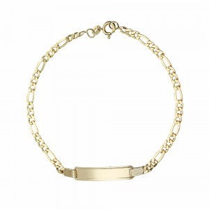 Yellow Gold 18k Shiny Link...