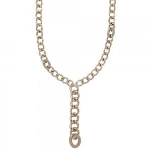 White gold 18k chain type...