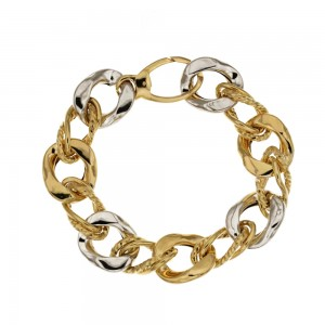 18k Yellow and white gold...